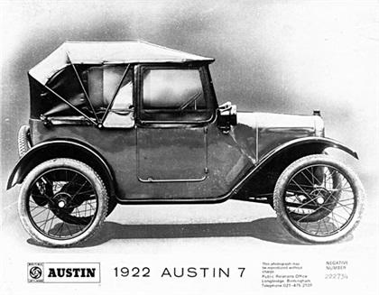 1922 Austin Seven