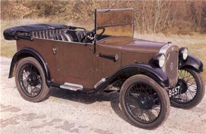 Austin Seven RK Saloon 1928