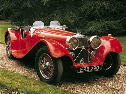 1935 Jaguar SS100