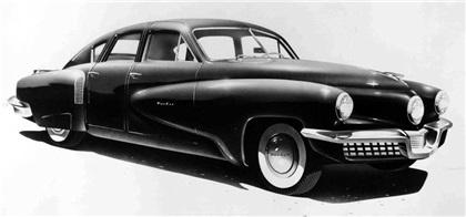 1948 Tucker Torpedo - Rendering