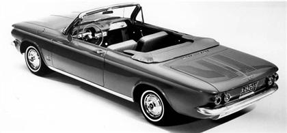 Chevrolet Corvair Monza Convertible, 1962