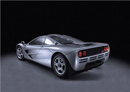 1992 McLaren F1 Milestones