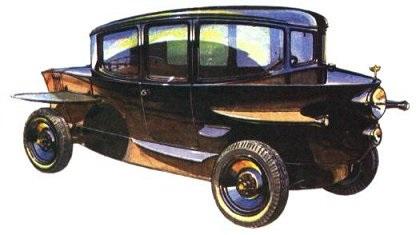 1921 Rumpler Tropfenwagen