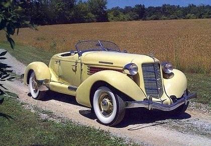 1934 Auburn 851 Speedster