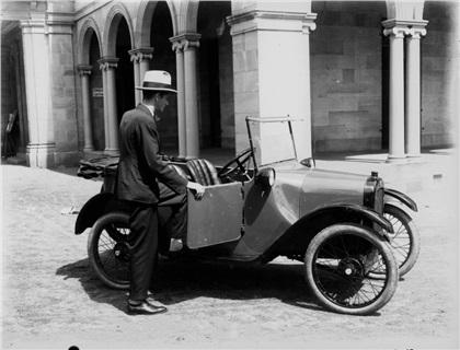 1922 Austin Seven Milestones