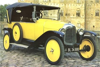 1919 Citroen Type A Milestones