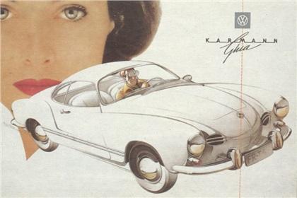 1955 Volkswagen Karmann Ghia (Ghia)