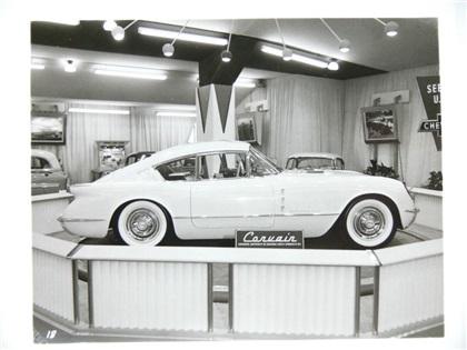Corvette Corvair, 1954 - Chicago Motorama