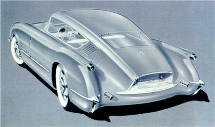 Chevrolet Corvair, 1954 - Rendering