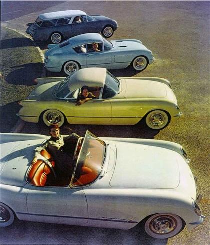 Corvette show cars, 1954