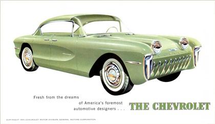 Chevrolet Biscayne, 1955 - Brochure