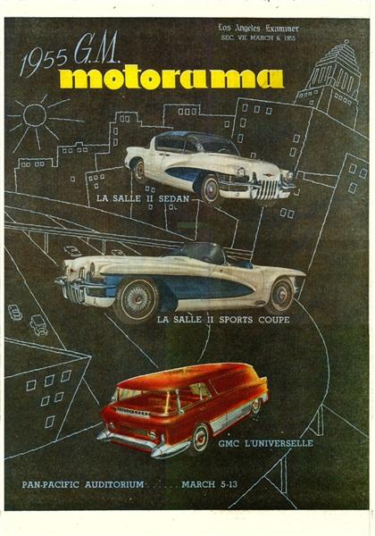 GM Motorama Ad, 1955