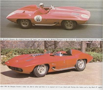 Corvette Stingray on 1959 Chevrolet Corvette Stingray   Concepts