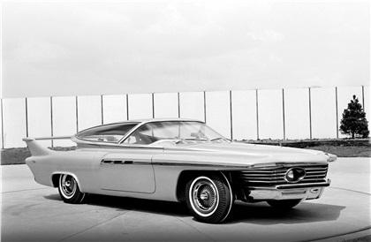 #pha.001086 Photo CHRYSLER TURBOFLITE CONCEPT CAR 1961 Auto Car