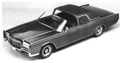 1969 Lincoln Continental Town Sedan