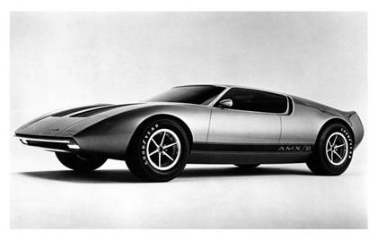 1969 American Motors AMX/2