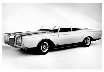 1970 Lincoln Mark III Dual Cowl Phaeton