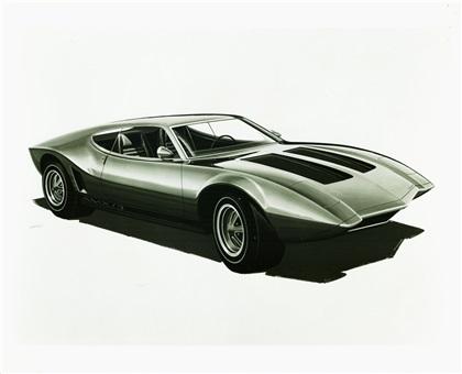 1970 American Motors AMX/3 (Vignale)