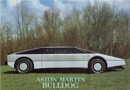 1980 Aston Martin Bulldog Concepts