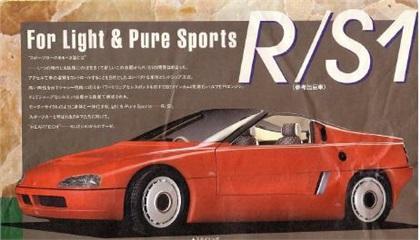 Suzuki RS-1 Concept, 1985