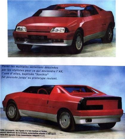 Citroen Xanthia Concept Car