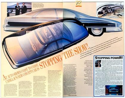 Cadillac Voyage, 1988