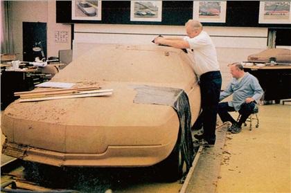 Cadillac Voyage, 1988 - Design Process