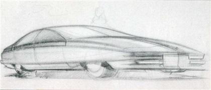 Cadillac Voyage, 1988 - Design Sketch