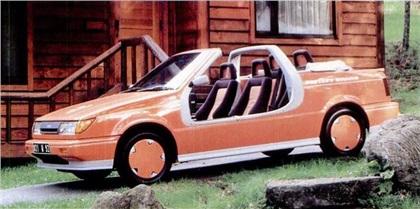 1987 Isuzu Zero Door