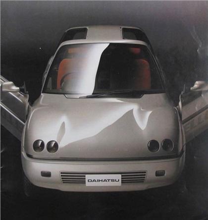 1989 Daihatsu Fellow 90 Concepts