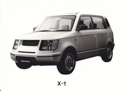 1995 Daihatsu X 1 Concepts