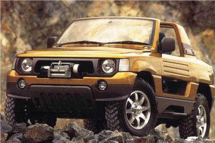 1995 Mitsubishi Zaus