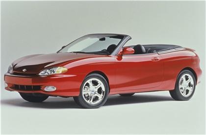 1997 Hyundai Tiburon Convertible