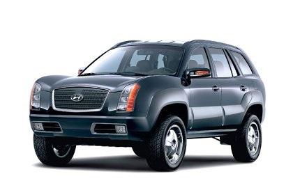 2002 Hyundai Santa Fe Mountaineer