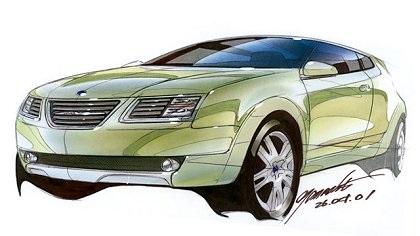 2002 Saab 9-3X