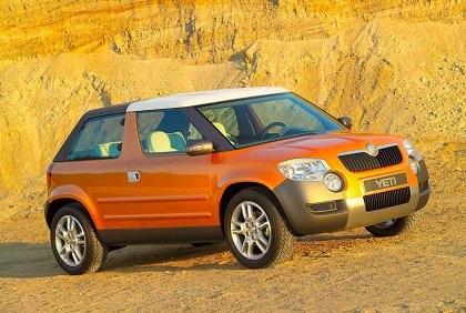 2005 Skoda Yeti Roadster