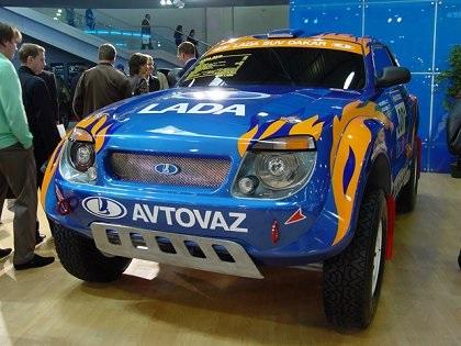 2006 Lada Raid