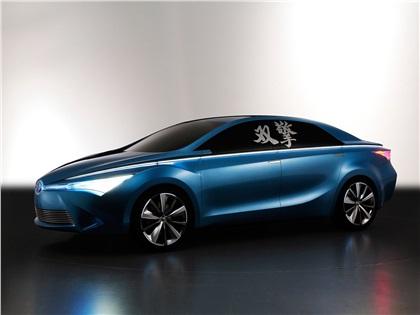 2012 Toyota Yundong Shuangqing