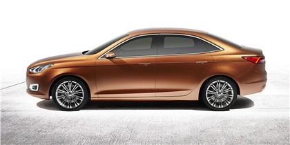 Ford Escort Concept, 2013