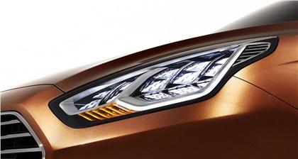 Ford Escort Concept, 2013 - Headlight