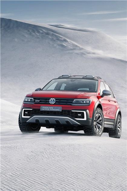 2016 Volkswagen Tiguan GTE Active