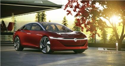 2018 Volkswagen I.D. Vizzion Concept