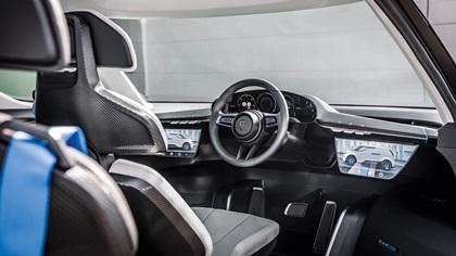 2021 Porsche Vision Renndienst