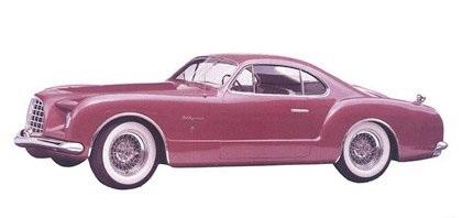 1953 Chrysler D'Elegance (Ghia)