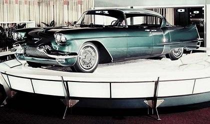 Cadillac Eldorado Brougham, 1955 - on display at the Waldorf Astoria