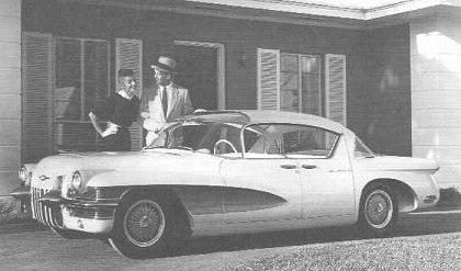 Cadillac La Salle II Hardtop Sedan, 1955