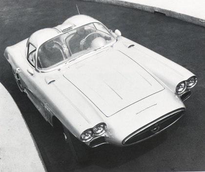 1958 chevrolet corvette xp 700 concepts. Black Bedroom Furniture Sets. Home Design Ideas