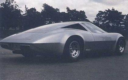 1973 Chevrolet Corvette Four Rotor - Concepts