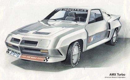 1981 American Motors AMX Turbo