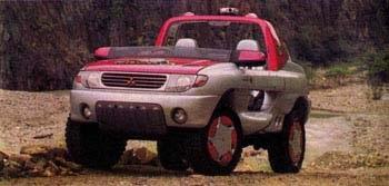 1993 Mitsubishi FieldGuard
